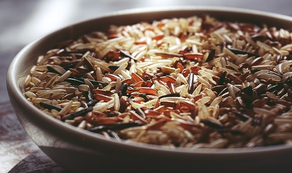 Wild rice, brown rice, any rice are great!